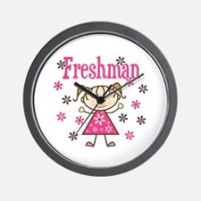 Freshman Girl Wall Clock