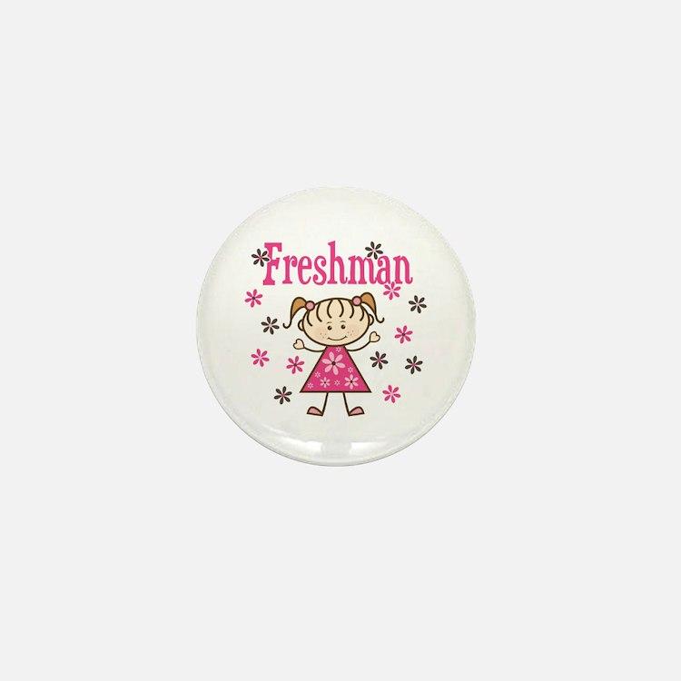 Freshman Girl Mini Button