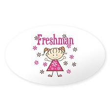 Freshman Girl Decal