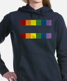 Cute Gay pride Women's Hooded Sweatshirt