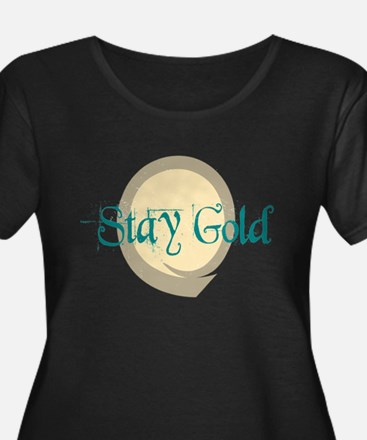 Stay Gold Plus Size T-Shirt