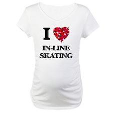 I Love In-Line Skating Shirt