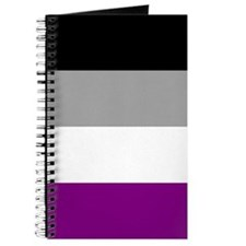 Asexual Pride Flag Journal