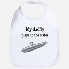 DADDY PLAYS IN THE WATER 2 Bib