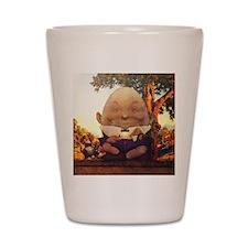 Humpty Dumpty in Wonderland Shot Glass