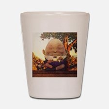 Humpty Dumpty in Wonderland Shot Glass