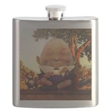 Humpty Dumpty in Wonderland Flask