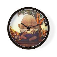 Humpty Dumpty in Wonderland Wall Clock