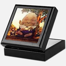 Humpty Dumpty in Wonderland Keepsake Box