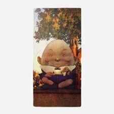 Humpty Dumpty in Wonderland Beach Towel