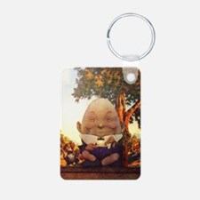 Humpty Dumpty in Wonderlan Keychains