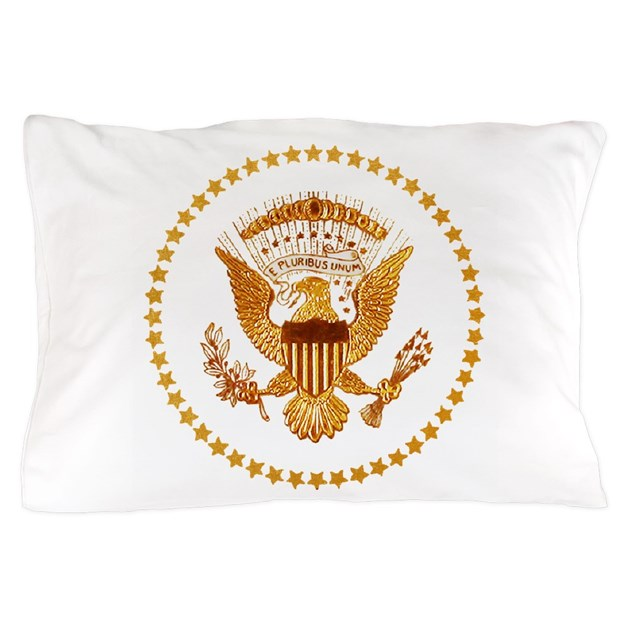 Presidential Seal The White House Pillow Case By