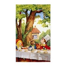 Mad Hatter's Tea Party Area Rug