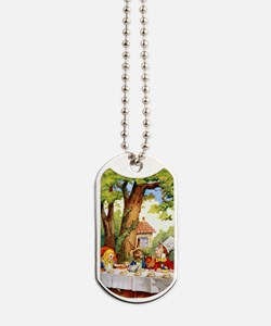 Mad Hatter's Tea Party Dog Tags