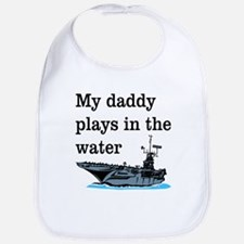 DADDY PLAYS IN THE WATER 1 Bib