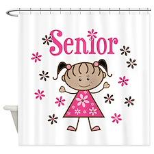 Senior Girl Shower Curtain