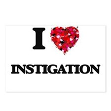 I Love Instigation Postcards (Package of 8)