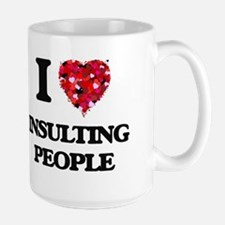I Love Insulting People Mugs