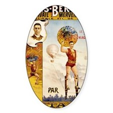 Folies Bergere Fontaine Vintage Pos Decal