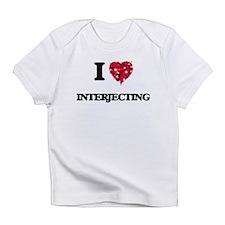 I Love Interjecting Infant T-Shirt