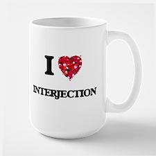 I Love Interjection Mugs