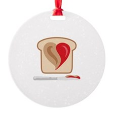 PB & J Sandwich Ornament