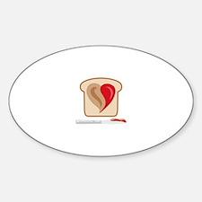 PB & J Sandwich Decal