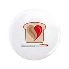 "PB & J Sandwich 3.5"" Button (100 pack)"