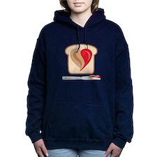 PB & J Sandwich Women's Hooded Sweatshirt