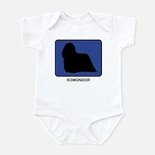 Komondor (blue) Infant Bodysuit
