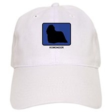 Komondor (blue) Baseball Cap