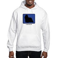 Komondor (blue) Hoodie