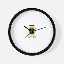 Makes It Better Wall Clock