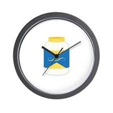 Mayonnaise Jar Wall Clock