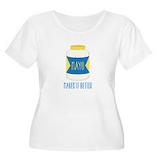 Makes It Better Plus Size T-Shirt
