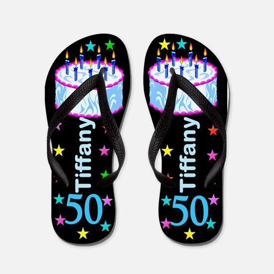 Fab 50th Flip Flops