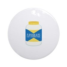 Mayonnaise Ornament (Round)