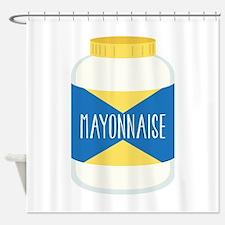 Mayonnaise Shower Curtain