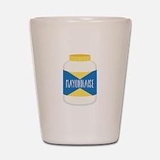 Mayonnaise Shot Glass