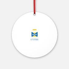 Mayo Kryptonite Ornament (Round)
