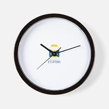 Mayo Kryptonite Wall Clock