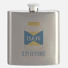 Mayo Kryptonite Flask