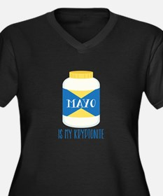 Mayo Kryptonite Plus Size T-Shirt