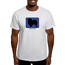 Keeshound (blue) T-Shirt