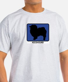Keeshound (blue) T-Shirt