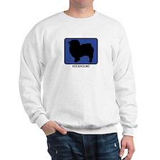 Keeshound (blue) Sweatshirt