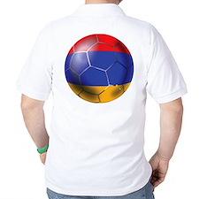 Armenia Soccer Ball T-Shirt