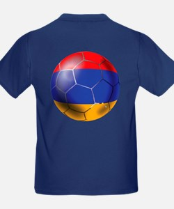 Armenia Soccer Ball T