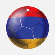 Armenia Soccer Ball Ornament (Round)