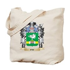 Fay Coat of Arms - Family Crest Tote Bag